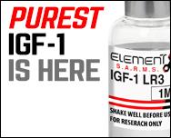 PURE IGF-1 PEPTIDE
